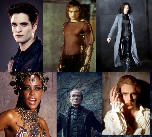Vampires are so sexy. You've got the incarnations of Lestat in the movie  versions of Anne Rice's Interview with a Vampire and Queen of the Damned,  ...
